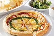 マルゲリータピザセット<br>(サラダ、スープ、ポテトチップス付)