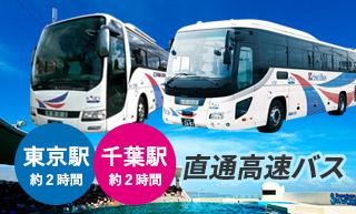 高速バス往復乗車券と入館券のセットプラン